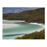 Whitehaven Beach, Hill Inlet, Tounge Point, Postcard