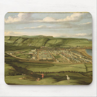 Whitehaven, Cumbria, Showing Flatt Hall, c.1730-35 Mouse Pad