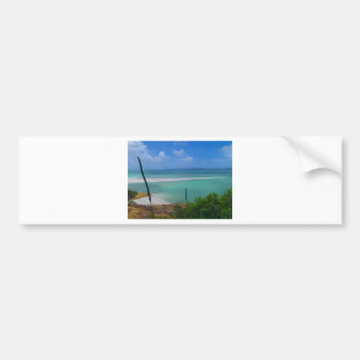 Whitehaven island bumper sticker