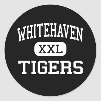 Whitehaven - Tigers - High - Memphis Tennessee Classic Round Sticker