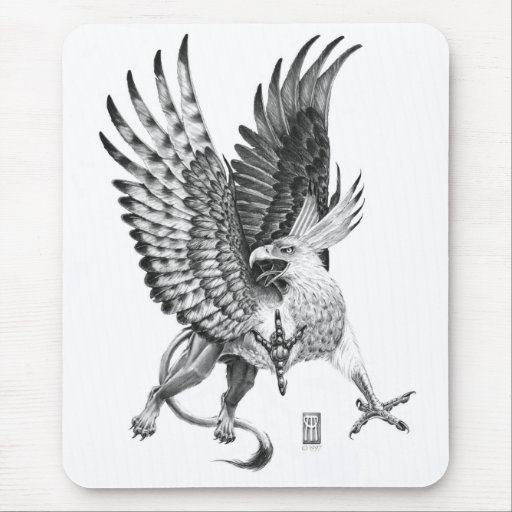 Whitehead Griffin Mouse Pads