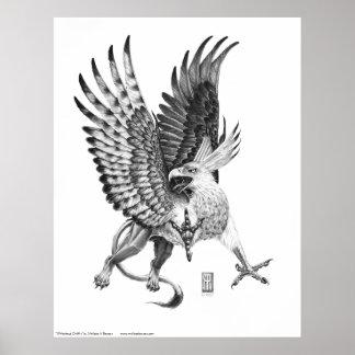 Whitehead Griffin print