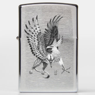 Whitehead Griffin Zippo Lighter