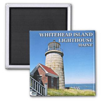 Whitehead Island Lighthouse, Maine Magnet