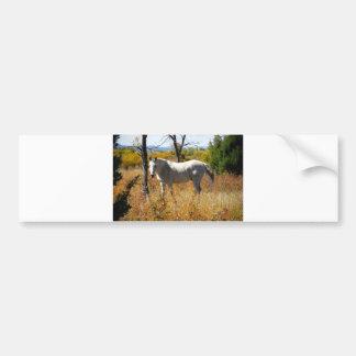 WhiteHorse bumper sticker