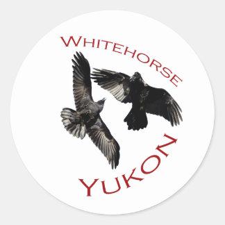 Whitehorse el Yukón Etiquetas
