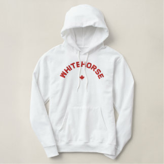 Whitehorse Hoodie - Red Canada Maple Leaf