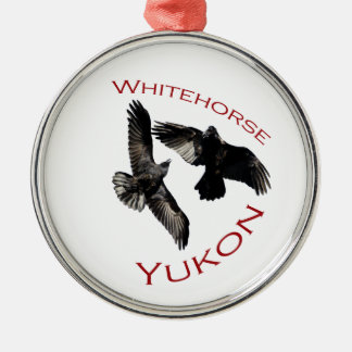 Whitehorse, Yukon Metal Ornament
