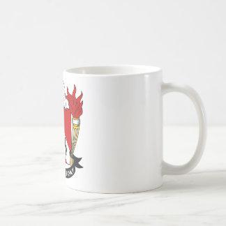 Whitehouse Family Crest Classic White Coffee Mug