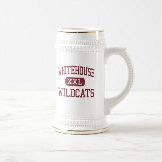 Whitehouse - gatos monteses - joven - Whitehouse Jarra De Cerveza