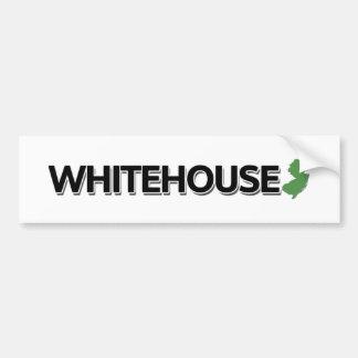 Whitehouse, New Jersey Etiqueta De Parachoque