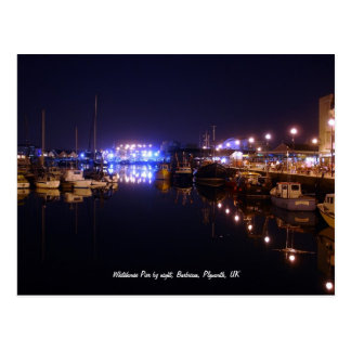 Whitehouse Pier, Barbican, Plymouth postcard