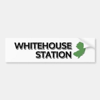 Whitehouse Station, New Jersey Pegatina De Parachoque