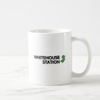Whitehouse Station, New Jersey Classic White Coffee Mug
