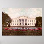 Whitehouse, Washington, DC 1908 Impresiones