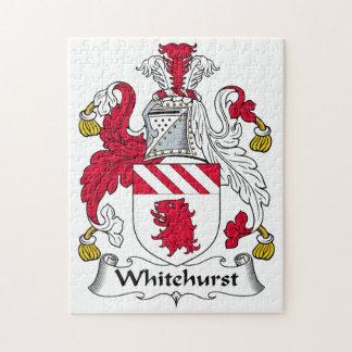 Whitehurst Family Crest Puzzle