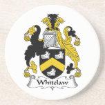 Whitelaw Family Crest Beverage Coaster