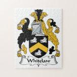Whitelaw Family Crest Jigsaw Puzzles