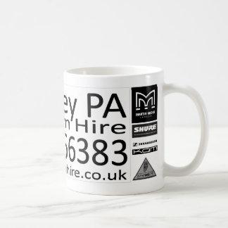 Whiteley PA System Hire Classic White Coffee Mug