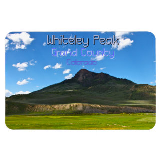 Whiteley Peak ~ Grand County, Colorado Rectangular Photo Magnet