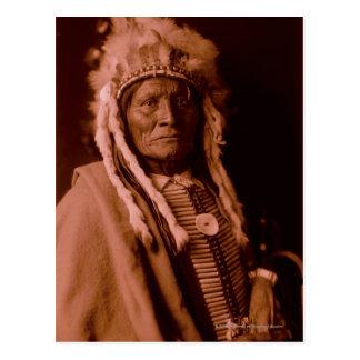 Whiteman alto - Cheyenne Tarjeta Postal