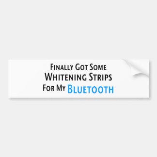 Whitening Strips for My Bluetooth • Bumper Sticker