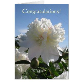 ¡whitepeony2, enhorabuena! tarjeta de felicitación