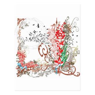whiterose collection postcard