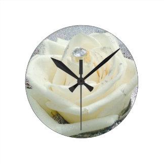 whiterose round clock