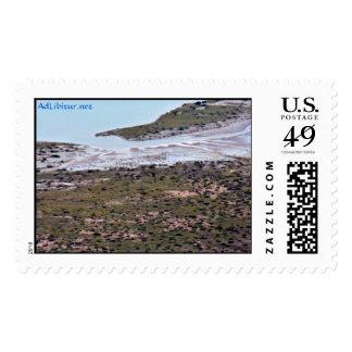 WhiteSandsFlyOver-11 Postage Stamps