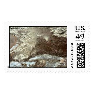 WhiteSandsFlyOver-15 Postage Stamps