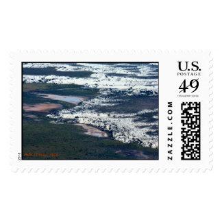 WhiteSandsFlyOver-1 Postage Stamps