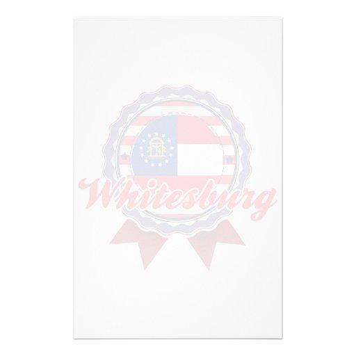 Whitesburg, GA Personalized Stationery