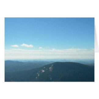 Whiteside Mountain (Blank) Stationery Note Card