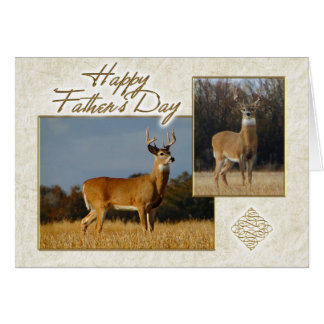 Whitetail Buck Father's Day Cad Card