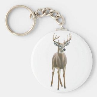 Whitetail Buck Keychain