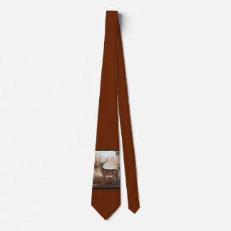 Whitetail Buck Neck Tie