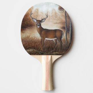 Whitetail Buck Ping-Pong Paddle
