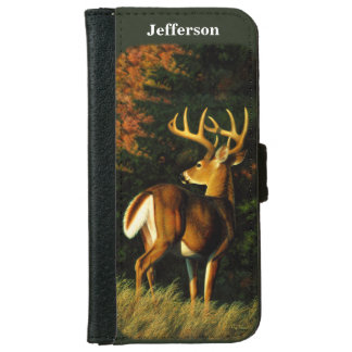 Whitetail Buck iPhone 6 Wallet Case