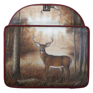 Whitetail Buck Sleeve For MacBooks