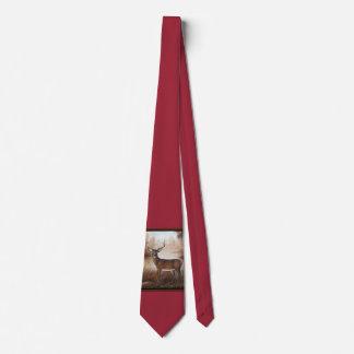 Whitetail Buck Tie