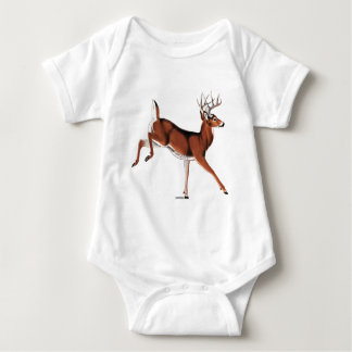 Whitetail Deer Baby Bodysuit