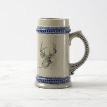 Whitetail Deer Beer Stein