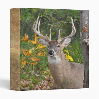 Whitetail Deer Binder