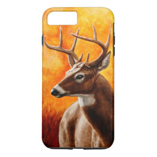 Whitetail Deer Buck Hunting iPhone 8 Plus/7 Plus Case