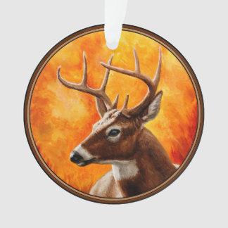 Whitetail Deer Buck Hunting Ornament