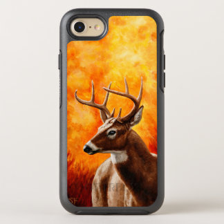 Whitetail Deer Buck Hunting OtterBox Symmetry iPhone 8/7 Case
