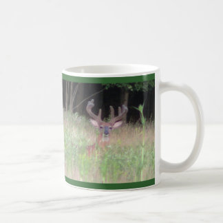 Whitetail Deer Buck Classic White Coffee Mug