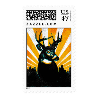 Whitetail Deer Buck stamp