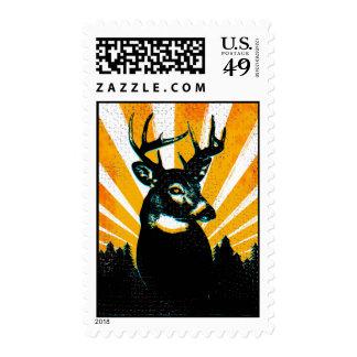 Whitetail Deer Buck stamp